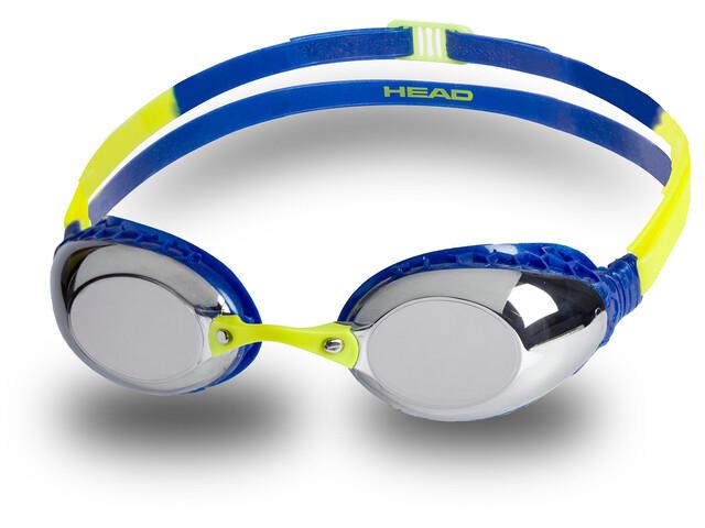 Head HCB Flash Mirrored Goggles, blue-blue